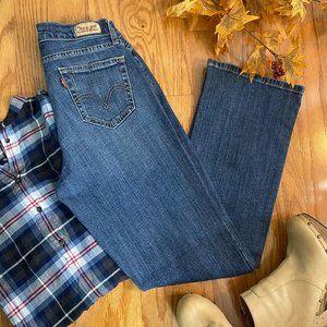 Levi's 529 Curvy Boot Cut Jeans Size 10M